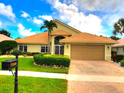 Boynton Beach Single Family Home For Sale: 7280 Angel Falls Court