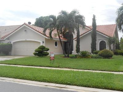 Boynton Beach Rental For Rent: 5421 Helene Circle
