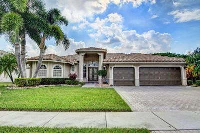 Boynton Beach Single Family Home For Sale: 7441 Brunswick Circle