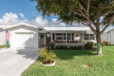 Boynton Beach Single Family Home For Sale: 1595 SW 13th Terrace