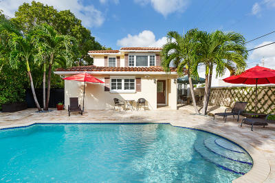 Delray Beach Rental For Rent: 820 Palm Trail