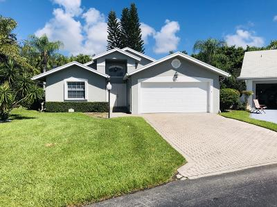 West Palm Beach Single Family Home For Sale: 3950 Dafilee Circle
