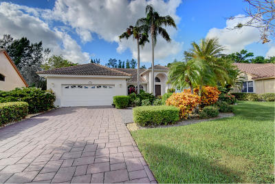 Boca Raton, Delray Beach, Boynton Beach Single Family Home For Sale: 7900 Dorchester Road