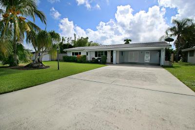 Boynton Beach Single Family Home For Sale: 710 SW 27th Place