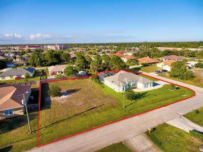 Port Saint Lucie Single Family Home For Sale: 509 SW Halkell Avenue