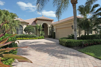 Palm Beach Gardens Single Family Home For Sale: 111 Vintage Isle Lane