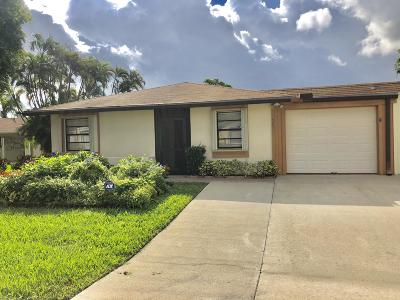 West Palm Beach Single Family Home For Sale: 4890 Luqui Court #25a