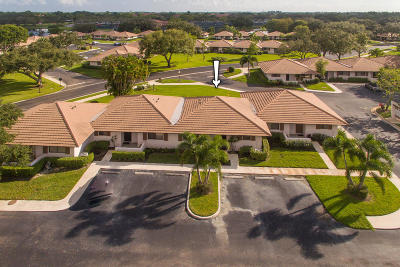 Palm Beach Gardens Single Family Home For Sale: 227 Club Drive