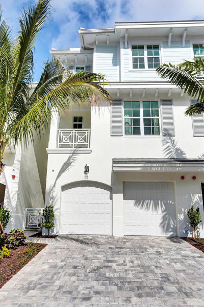 Boca Raton Townhouse For Sale: 951 Sweetwater Lane