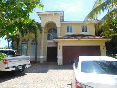 Boynton Beach Single Family Home For Sale: 3445 Us Highway 1 Highway