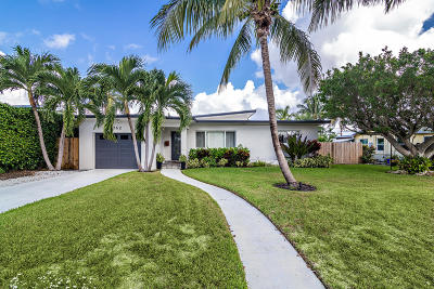 Lake Worth Single Family Home For Sale: 162 Vassar Drive