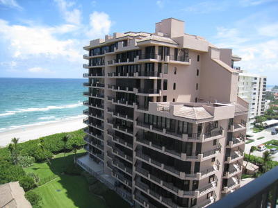Juno Beach Condo For Sale: 530 Ocean Drive #402