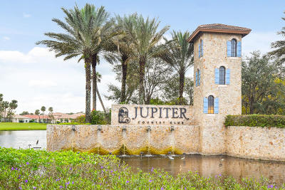 Jupiter Single Family Home For Sale: 172 Sonata Drive