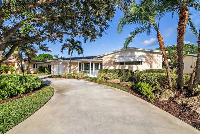 Palm Beach Gardens Single Family Home For Sale: 9598 Military Trail