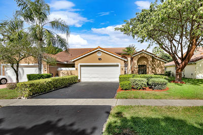 Boca Raton Single Family Home For Sale: 10691 Ladypalm Lane #B