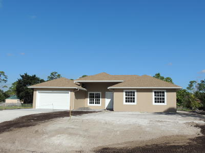 West Palm Beach Single Family Home For Sale: 12715 79th Court