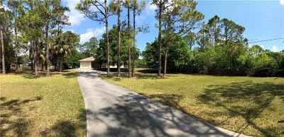 Fort Pierce Single Family Home For Sale: 5100 Indrio Road