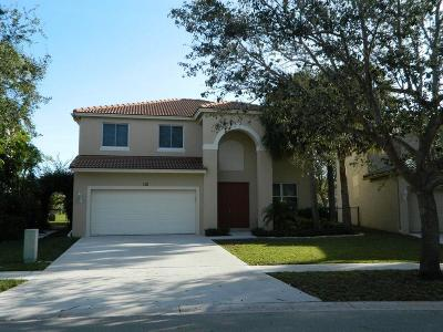 Royal Palm Beach Single Family Home For Sale: 112 Seminole Lakes Drive