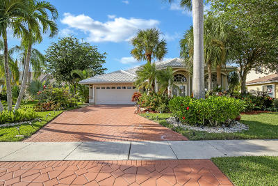 Boca Raton Single Family Home For Sale: 19457 Preserve Drive