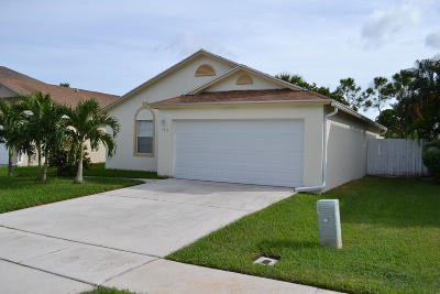West Palm Beach Single Family Home For Sale: 5972 Azalea Circle