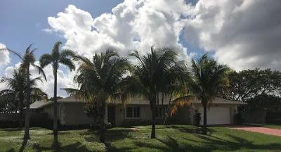 Palm Beach Gardens Single Family Home For Sale: 3660 Cypress Drive