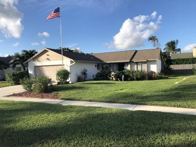 Royal Palm Beach Single Family Home For Sale: 110 Parkwood Drive