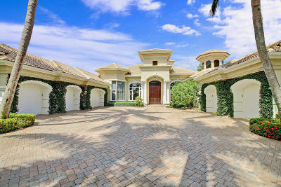Palm Beach Gardens FL Single Family Home For Sale: $2,550,000