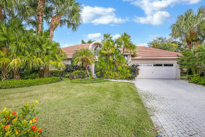 Boca Raton Single Family Home For Sale: 7589 La Corniche Circle