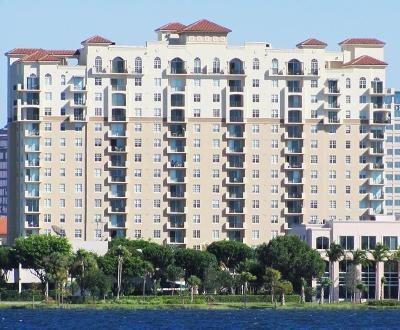 West Palm Beach Condo Contingent: 616 Clearwater Park Road #809