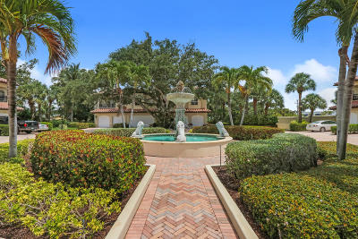 Palm Beach Gardens Townhouse For Sale: 37 Marina Gardens Drive
