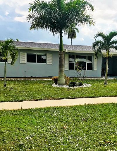 West Palm Beach Single Family Home For Sale: 4220 Collin Drive
