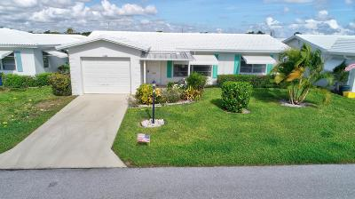 Boynton Beach Single Family Home For Sale: 1105 Siesta Avenue