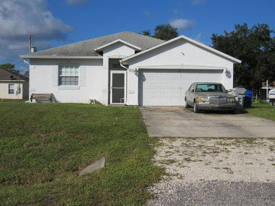 Vero Beach Single Family Home For Sale: 7725 99th Court