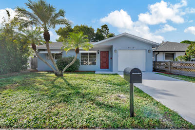 Lake Worth Single Family Home For Sale: 1515 J Terrace