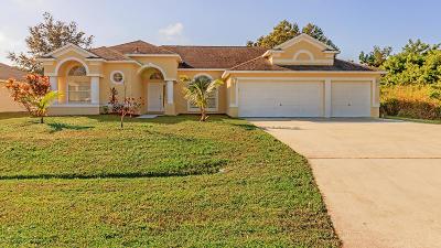 Port Saint Lucie Single Family Home For Sale: 1426 SW Malaga Avenue
