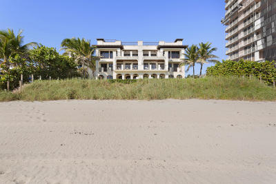 Highland Beach Condo For Sale: 3511 S Ocean Boulevard #B