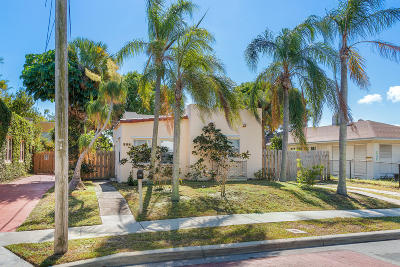 West Palm Beach Single Family Home For Sale: 534 Hampton Road