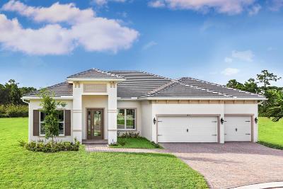 Vero Beach Single Family Home For Sale: 3655 Arcadia Square