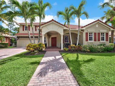 Jupiter Single Family Home For Sale: 164 Via Rosina