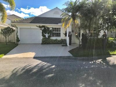 Palm Beach Gardens FL Single Family Home For Sale: $367,500