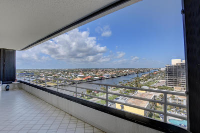Highland Beach Condo For Sale: 2901 S Ocean Boulevard #2