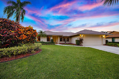 Hobe Sound Single Family Home For Sale: 6511 SE Nantucket Court