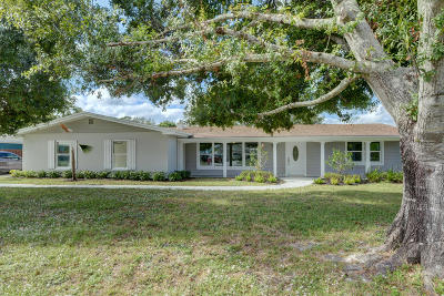 Port Saint Lucie Single Family Home For Sale: 418 NE Oleander Avenue