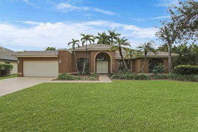 Boca Raton Single Family Home For Sale: 10762 Santa Rosa Drive