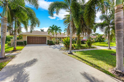 Boca Raton Single Family Home For Sale: 280 Country Club Boulevard