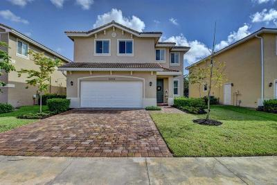 Greenacres Single Family Home For Sale: 5655 Caranday Palm Drive