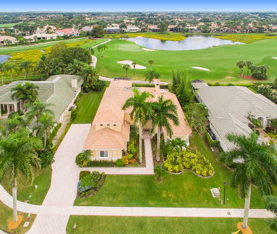 West Palm Beach Single Family Home For Sale: 8561 Egret Lakes Lane