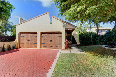 Boca Raton Single Family Home For Sale: 5987 Patio Drive