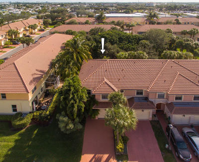Palm Beach Gardens Townhouse For Sale: 6038 Seminole Gardens Circle