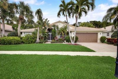 Boynton Beach Single Family Home For Sale: 7458 Falls Road W